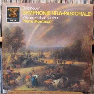 Beethoven*, Monteux*, Wiener Philharmoniker - Symphonie Nr. VI  F-Dur        -Pastorale- (LP)