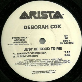 "Deborah Cox - Just Be Good To Me (12"", Promo)"