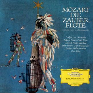 Mozart* - Karl Böhm, Berliner Philharmoniker - Die Zauberflöte (Opernquerschnitt) (LP, RE)