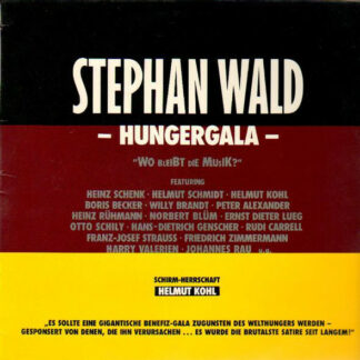 "Stephan Wald - Hungergala ""Wo Bleibt Die Musik?"" (LP)"