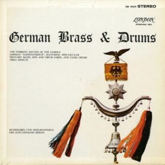 Musikkorps Der Schutzpolizei Berlin - German Brass & Drums (LP)
