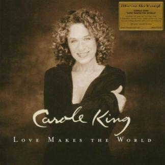Carole King - Love Makes The World (LP, Album, RE, 180)