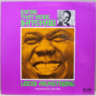 Louis Armstrong - Swing That Music Satchmo (LP, Comp)