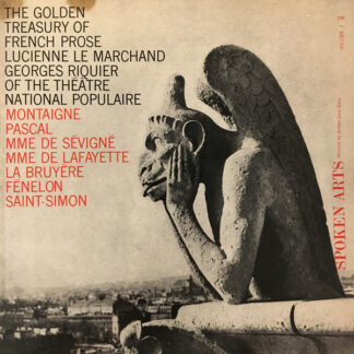 Georges Riquier, Lucienne Le Marchand - The Golden Treasury Of French Prose Volume 1 (LP, Album)