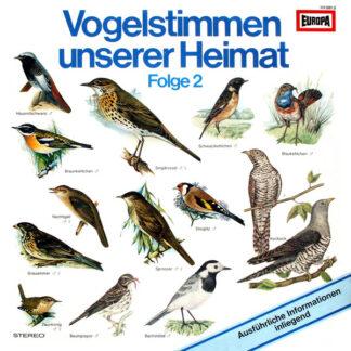 Bernd Eggert - Vogelstimmen Unserer Heimat Folge 2 (LP, RP)