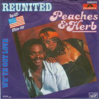 """Peaches & Herb - Reunited (7"""", Single)"""