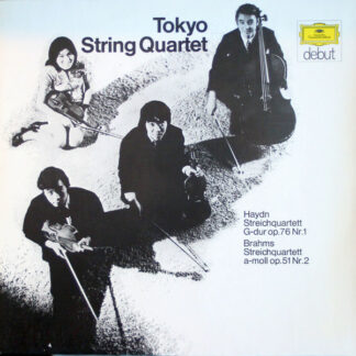 Tokyo String Quartet - Haydn* / Brahms* - Streichquartett G-dur Op. 76 Nr.1 / Streichquartett a-moll Op. 51 Nr. 2 (LP, Album, no )