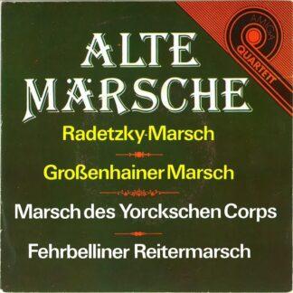 """Zentrales Orchester Der Nationalen Volksarmee - Alte Märsche (7"""", EP)"""