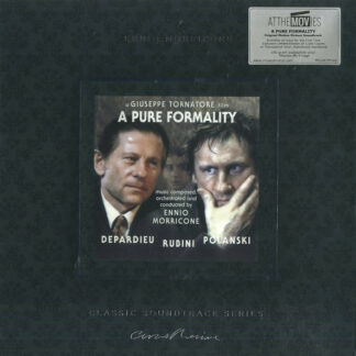 Ennio Morricone - A Pure Formality (LP, Album, Ltd, Num, RE, Cle)