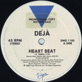 "Déjà - Heart Beat (12"", Promo)"