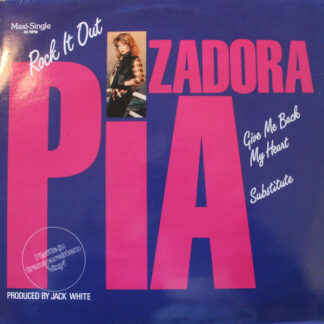 "Pia Zadora - Rock It Out / Give Me Back My Heart / Substitute (12"", Maxi, Cle)"