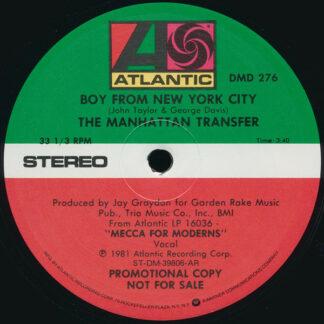 The Manhattan Transfer - Boy From New York City (12
