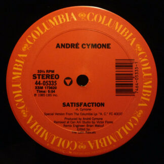 "André Cymone - Satisfaction (12"")"
