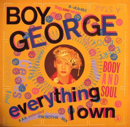 Boy George - Everything I Own (12