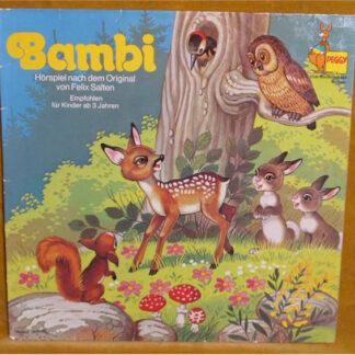 Felix Salten - Bambi (LP, Club)