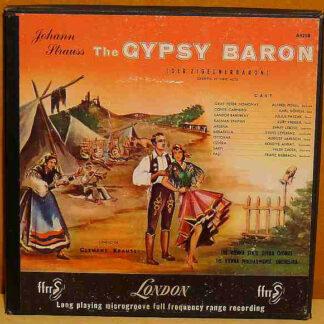 The Vienna State Opera Chorus* And The Vienna Philharmonic Orchestra* Conductor Clemens Krauss, Johann Strauss* - The Gypsy Baron (Der Zigeunerbaron) (2xLP, Album + Box)