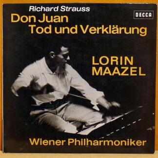 Strauss*, Maazel*, Vienna Philharmonic Orchestra* - Don Juan / Tod Und Verklärung (LP, Album)