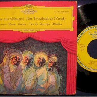 Lawrence Winters, Chor Der Staatsoper München* - Verdi* - Chore Aus Nabucco  • Der Troubadour (7
