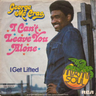 "George Mc Crae* - I Can't Leave You Alone (7"", Single)"