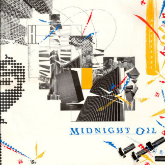 Midnight Oil - 10, 9, 8, 7, 6, 5, 4, 3, 2, 1 (LP, Album, RE)