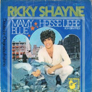 """Ricky Shayne - Mamy Blue (7"""", Single)"""