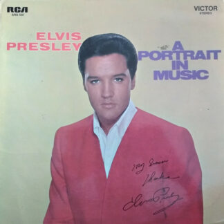 Elvis Presley - A Portrait In Music (LP, Comp, Gat)