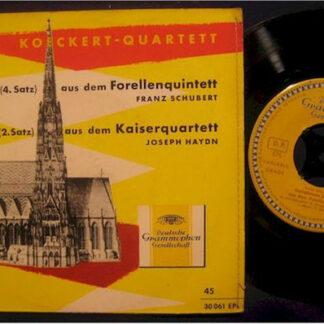 Franz Schubert / Joseph Haydn, Koeckert-Quartett, Adrian Aeschbacher - Variationen Aus Dem Forellenquintett Op. 114 / Variationen Aus Dem Kaiserquartett Op. 76 Nr. 3 (7