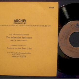 Domenico Cimarosa, Berliner Philharmoniker, Igor Markevitch - Concerto Per Due Flauti G-dur (7