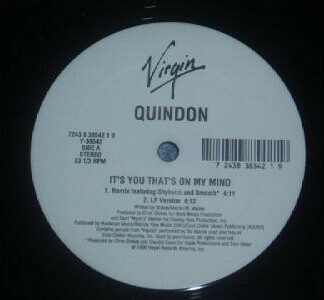 """Quindon - It's You That's On My Mind (12"""")"""