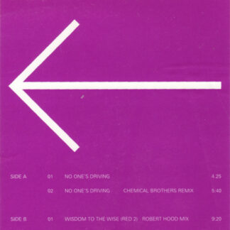 """Dave Clarke - No One's Driving (12"""", Promo)"""