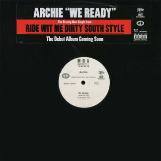 "Archie* Featuring Bubba Sparxxx - We Ready (12"", Promo)"