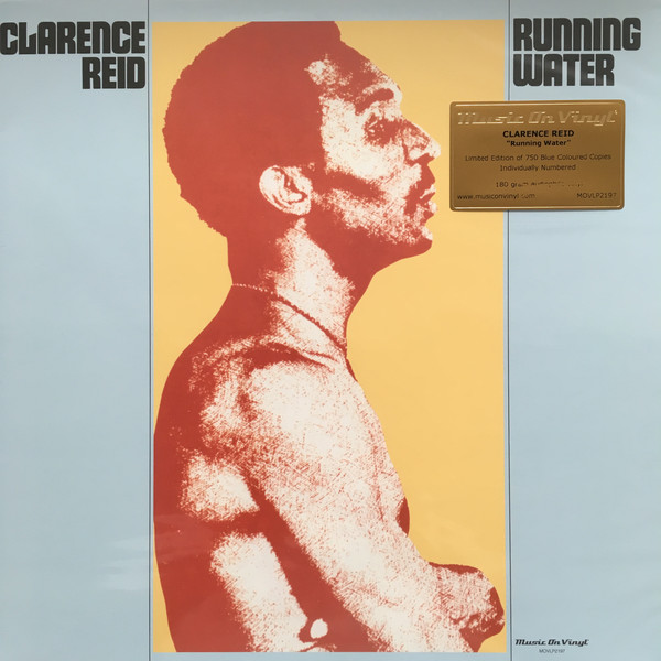Clarence Reid – Running Water (LP, Album, Ltd, Num, RE, Blu)