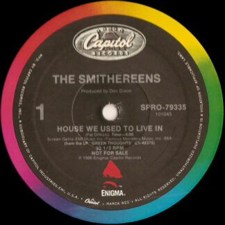 """The Smithereens - House We Used To Live In (12"""", Promo)"""