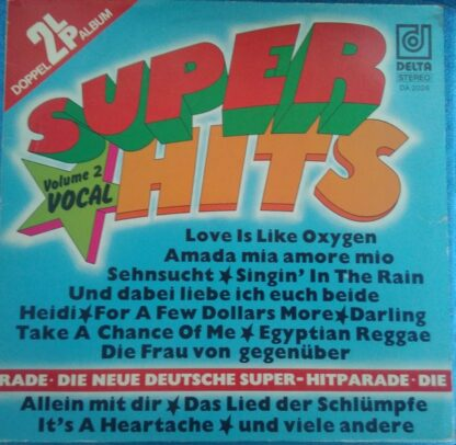 Various - Super Hits Volume 2 Vocal (2xLP, Comp)