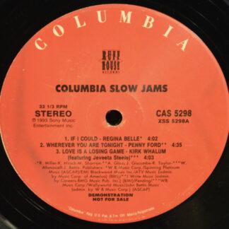 """Various - Columbia Slow Jams (12"""", Comp, Promo, Smplr)"""