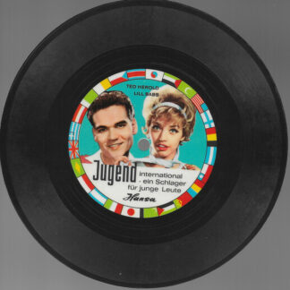 "Ted Herold / Lill Babs* - Wir Jungen Leute (Flexi, 7"", S/Sided, Mono, Card, Promo)"