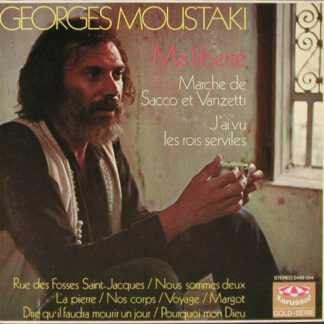 Georges Moustaki - Ma Liberté (LP, Comp)