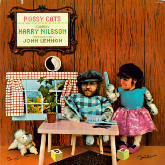 Harry Nilsson Produced By John Lennon - Pussy Cats (LP, Album, Ind)