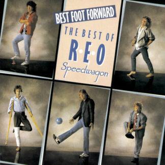 REO Speedwagon - Best Foot Forward - The Best Of Reo Speedwagon (LP, Comp)