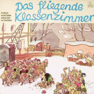 Erich Kästner - Das Fliegende Klassenzimmer (LP)