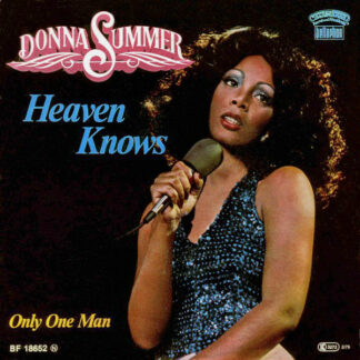 "Donna Summer - Heaven Knows (7"", Single)"