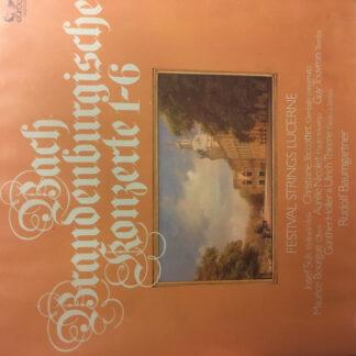 Bach* - Brandenburgische Konzerte 1-6 (2xLP)