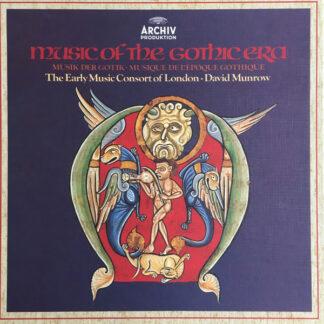 The Early Music Consort Of London / David Munrow - Music Of The Gothic Era - Musik Der Gotik - Musique De L'Epoque Gothique (3xLP + Box)