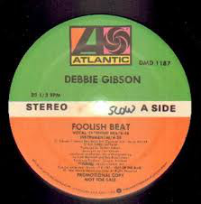 "Debbie Gibson - Foolish Beat (12"", Single, Promo)"