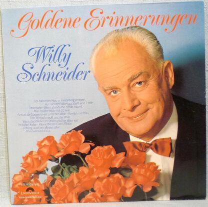 Willy Schneider - Goldene Erinnerungen (LP, Club)