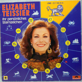 Elizabeth Teissier - Ihr Persönliches Sterzeichen - Löwe (LP)