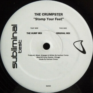 """The Crumpster - Stomp Your Feet (12"""", TP)"""