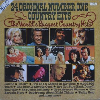 Various - 24 Original Number One Country Hits (2xLP, Comp, RP)