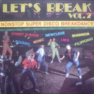 Various - Let's Break Vol. 2 (Nonstop Super Disco Breakdance) (LP, Comp, Red)