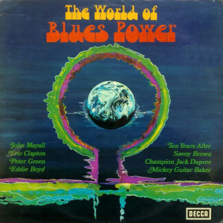 Various - The World Of Blues Power (LP, Smplr, Gat)